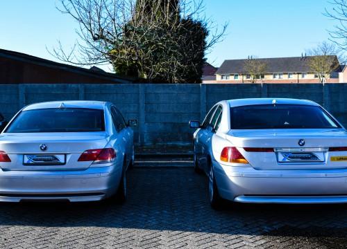Zwei E65 in Holland