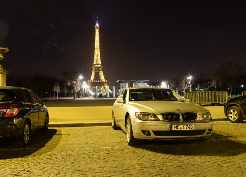 BMW E65 in Paris
