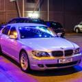 BMW E65 Frontscheibe als Spiegel