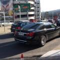BMW F02 am Airport in Düsseldorf