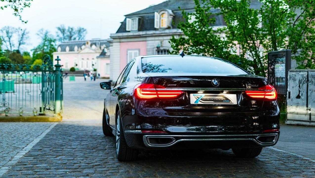 BMW G11 740xD